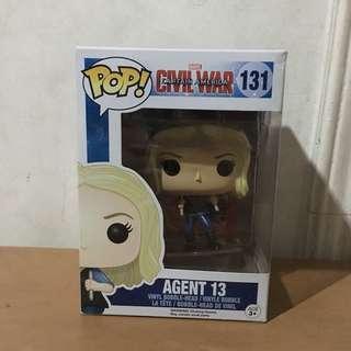 Funko Pop Agent 13 (Captain America Civil War)