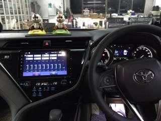 """Toyota Camry Hybrid👉2018 Installed Android 9"""""""