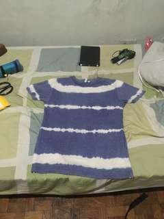 Penshoppe tie-dye shirt