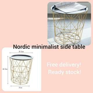 Side table/coffer table minimalist INSTOCK!