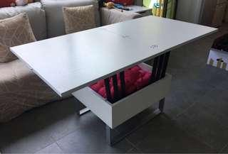Coffee and dining foldable table 可升降摺合茶几飯台
