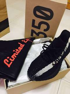 f42edfb68 limited edition Yeezy Boost 350 V2 black white