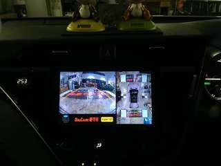Toyota Camry Hybrid👉2018 Installed 1080P Super HD Night Vision 360 All View Camera 3D,Helps With Parking N Driving N Products With Driving Recorder 4 Camera