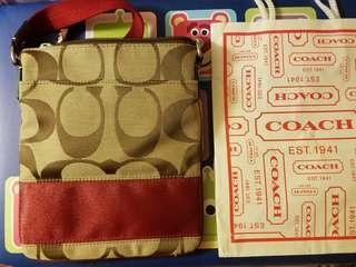 Coach shoulder bag, hand bag, 斜揹袋,手袋