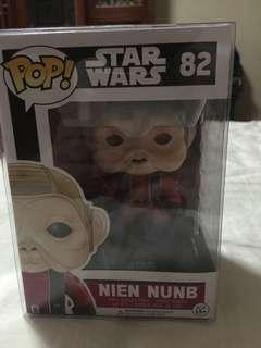 Star Wars nien nunb funko pop