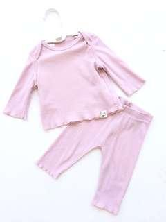 Mango Baby Girl Top Pants Set 1-3 months