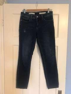 Pilcro and the Letterpress jeans sz 28