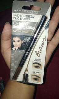 Duo shaper wax eyebrow pencil