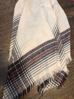 GARAGE blanket scarf (poncho style)
