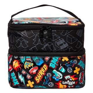 Smiggle dual lunchbox