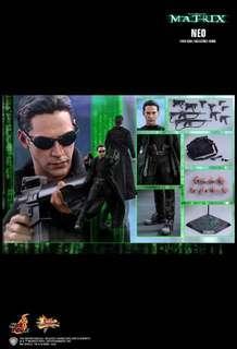 *PO* HOT TOYS - The Matrix: Neo 1:6 Scale Figure