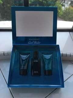 💯Guaranteed Original Davidoff Cool Water Man Limited Edition Travel Size Set (40ml) - Sell at loss! Good buy! Great for Gift!