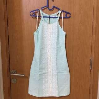 Mint dress import