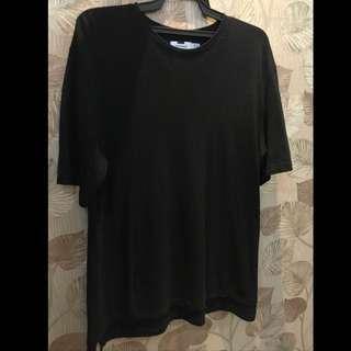 TOPMAN Oversized Tshirt (Black)