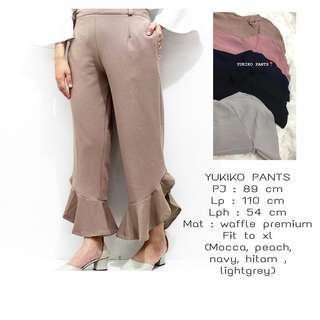 Yujiku pants