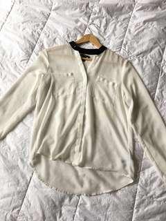 Forever 21 White Blouse