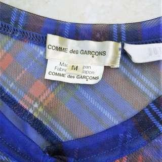 Comme Des Garcons See-Through top (Medium) - NEW + AUTHENTIC