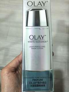 含運-OLAY歐蕾-高效透白光塑面膜精華液150ml-全新