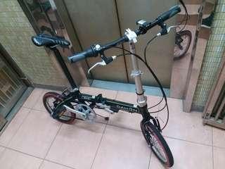 14寸大行Dave i3内3速單車