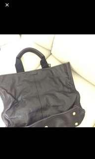 ysl tote leather bag