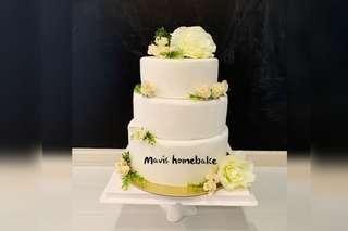 Wedding cakes 3 tier cakes