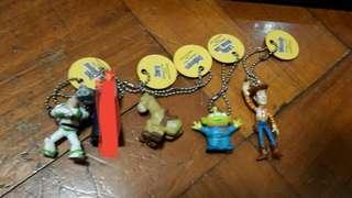 Toy Story 反斗奇兵 扭蛋 匙扣(中古品)