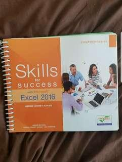 Skills for success Excel 2016.