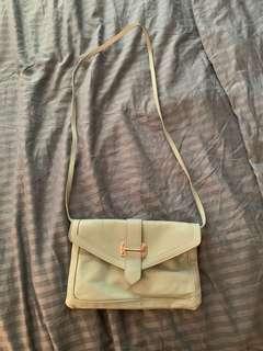 Also mint crossbody purse