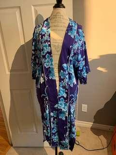 Forever 21 floral long kimono