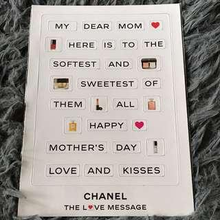 BN Authentic CHANEL Mother's Day Magnetic Message