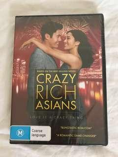Crazy Rich Asian DVD [SEALED/ Never Opened]