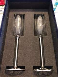 Royal Selangor Pewter Champagne Flutes (1 pair)