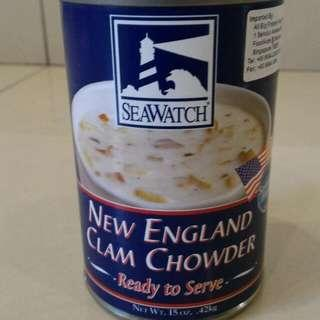 Seawatch New England Clams Chowder Soup
