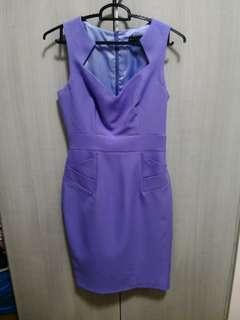Dorothy Perkins Lavender Work dress