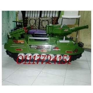 Kereta Remote Battery Design kereta tank