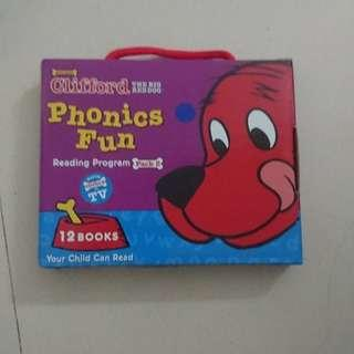 Clifford phonic reader pack 2