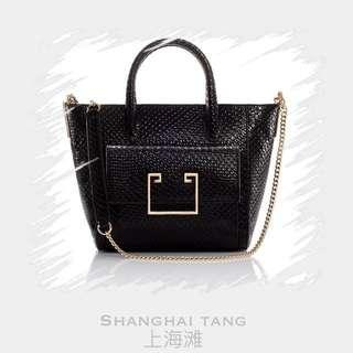 ⚡️SALE⚡️BNIB SHANGHAI TANG LATTICE TOTE 💯% AUTHENTIC