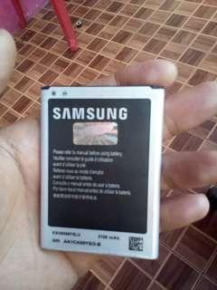 batre samsung note 2 original bawaan normal