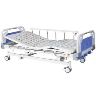 Electronic Hospital Bed with ripple mattress