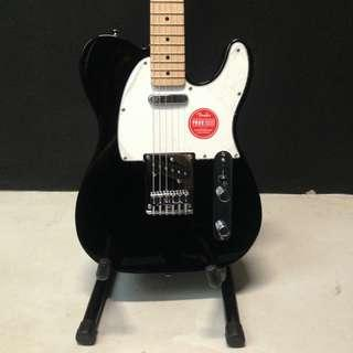 Squier Affinity Telecaster®, Maple Fingerboard, Black