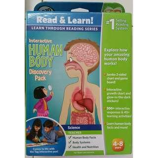 Leapfrog reading system - Interactive Human Body Discovery Pack