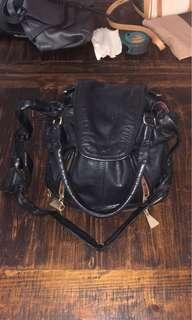 See by Chloe leather bag (black)