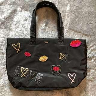 Victoria's Secret Runway Patch Weekender Tote