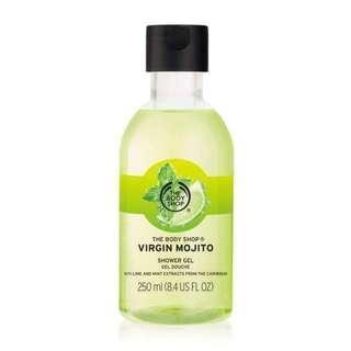 (NEW) THE BODY SHOP Virgin Mojito Shower Gel Body Wash (250 ml) #BEAUTY50
