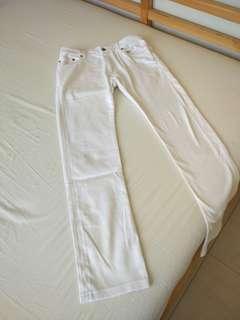 Jeans UNIQLO putih/white