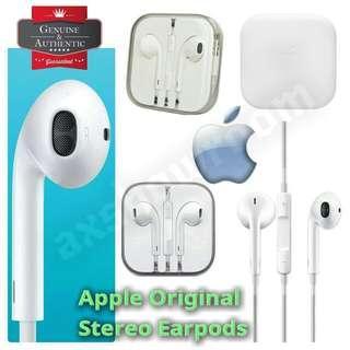 Authentic Apple EarPods with 3.5mm Headphone Plug