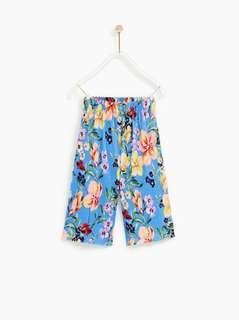 Zara Kids Pleated Trousers