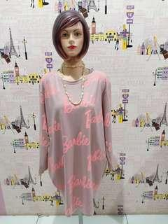 Baju motif barbie