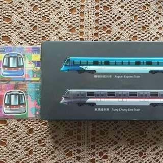 MTR Airport Express and Tung Chung Commemorative Models And Tickets