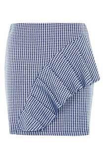 Topshop Check Mini Skirt